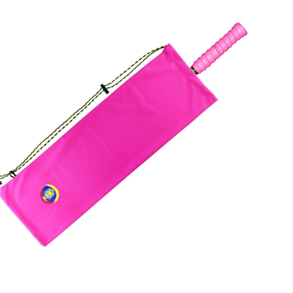 Flanneletteバドミントンラケットバッグ、ピンク B06XTFCMZ6