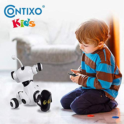 Contixo Puppy Smart Interactive Robot Pet Toy for Kids, Voice, App, and Touch Controlled by Contixo (Image #4)