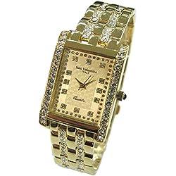Izax Valentino watch analog display Gold IVG-7000-4 Men's