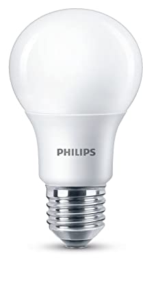 Philips Ampoule LED E27 85W Equivalent 60W Blanc Chaud Compatible Variateur