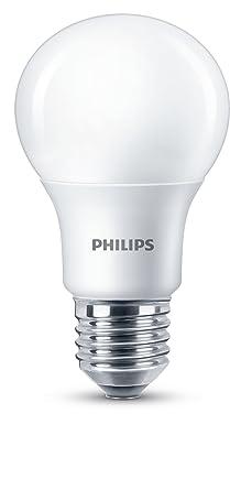 Philips LED Bombilla estandar mate de 8,5W (60 W) casquillo gordo E27