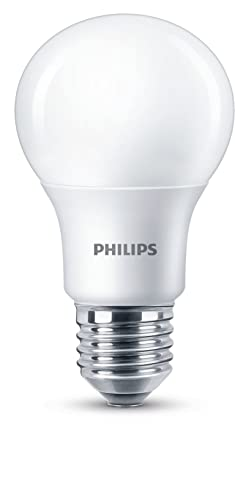 Philips LED Bombilla estandar mate de 8,5W (60 W) casquillo gordo E27