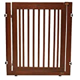 Amish Handcrafted 36'' Citadel Pressure Mount Pet Gate