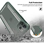 REALCASE iPhone 11 Pro Max Clear Hybrid TPU Bumper Cover with Reinforced Corner Protection, Protective Case for Apple…