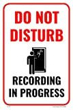 Do Not Disturb Recording In Progress Building Business Studio Sign, 12