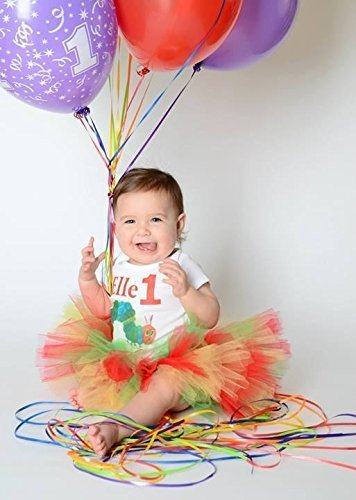 Very Hungry Caterpillar Tutu Set,Caterpillar Outfit,1st Birthday Outfit