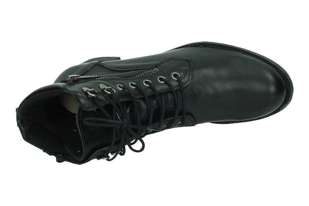 ABACK I20.8652 Chaussures à Lacets pour Femme Noir