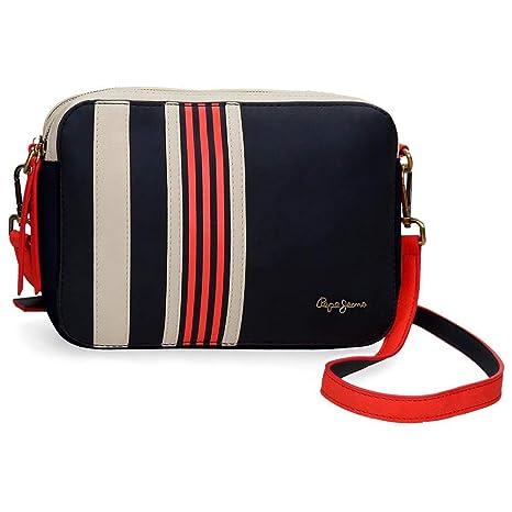 Pepe Jeans Messenger Bag, Multicoloured (Multicolour