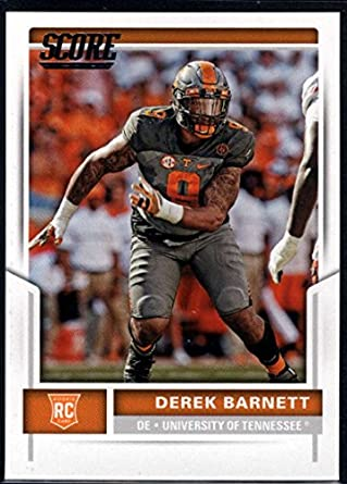 b672d719f97 Amazon.com: Football NFL 2017 Score Rookies #437 Derek Barnett RC ...