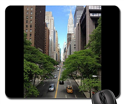 Mouse Pad - Chrysler Building New York Nyc Ny Metropolis - Of Americas The Avenue Manhattan