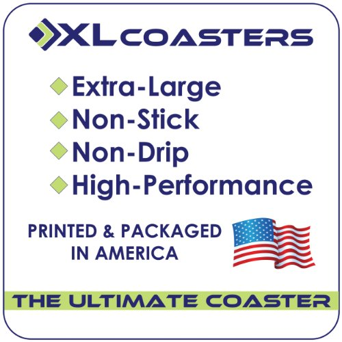 Win XL Coasters Wrought Iron (9 Inch) Drink coasters that really work offer