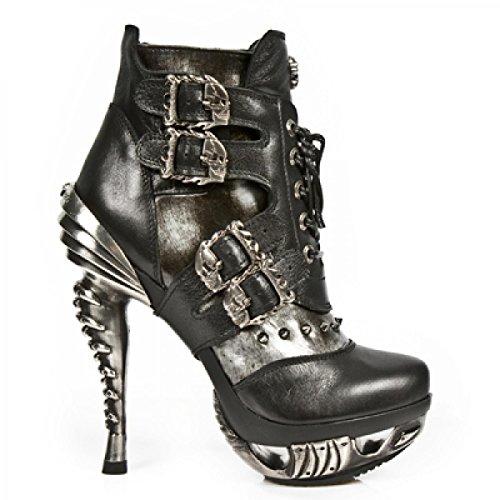 Nuovi Stivali Di Roccia M.mag004-c1 Gotiche Damen Hardrock Punk Stiefel Acciaio Colorato
