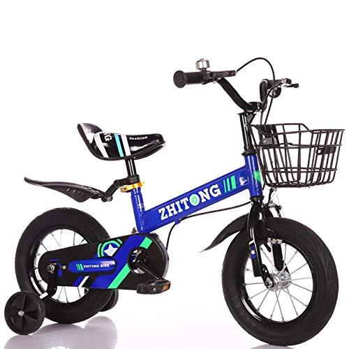 alta calidad y envío rápido azul BABYCBICK Bicicleta niño Bicicleta para Niños Bicicleta Bebé Equilibrio Equilibrio Equilibrio Niño Niña 12 Pulgadas 14 Pulgadas 16 Pulgadas 18 Pulgadas Carro De Bebé con Cesta De Carro 12 in  el más barato