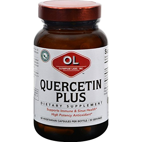 2Pack! Olympian Labs Quercetin Plus - 1 g - 60 Vegetarian Capsules by Antioxidants