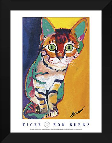 (Ron Burns Framed Art Print 22x28