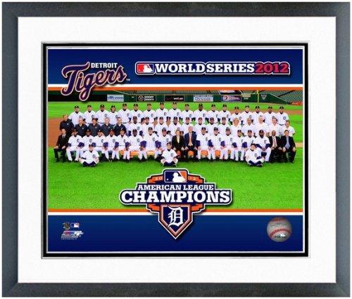 2012 Team Framed Photo - MLB Detroit Tigers 2012 World Series Team Photo (Size: 12.5