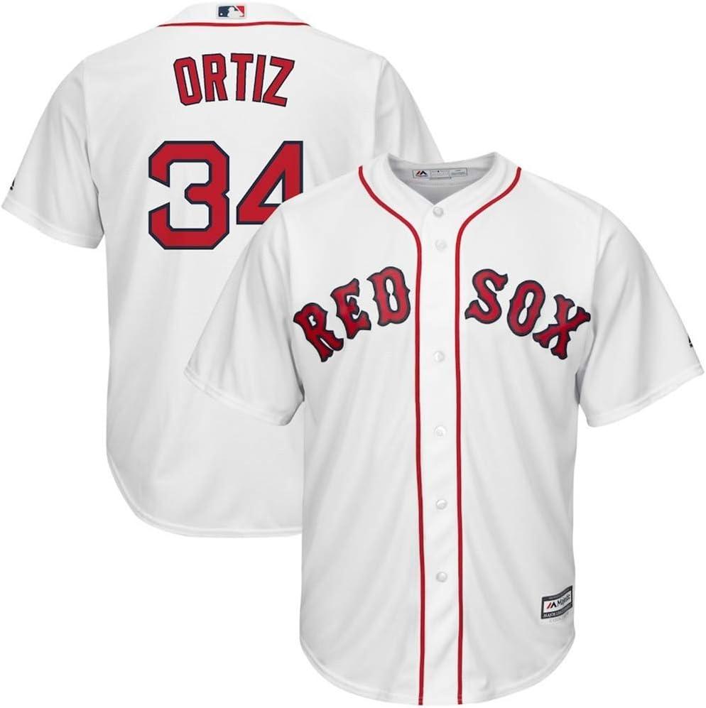 YQSB Jersey Baseball Baseball League # 34 Ortiz Boston Red Sox