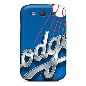 Galaxy S3 Case Cover Skin : Premium High Quality Baseball Los Angeles Case