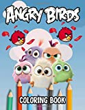 """Angry Birds Coloring Book: 50+ Illustrations Designs Angry Birds JUMBO Coloring Book Drawing Art 8.5 x 11"""" pages"""