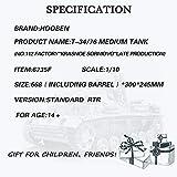 HOOBEN 1/10 T-34/76 No.112 Factory Krasnoe