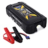YESURPRISE 800A Peak 20000mAh Portable Car Jump Starter (Up to 6.0L Gas 5.0L Diesel Engine) Car Battery Booster Power Bank Pack Phone Charger with LED Emergency Flashlight