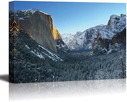 Yosemite National Park in Winter Tunnel View Home Deoration Wall Decor