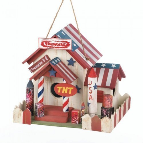 - Fireworks Stand Birdhouse