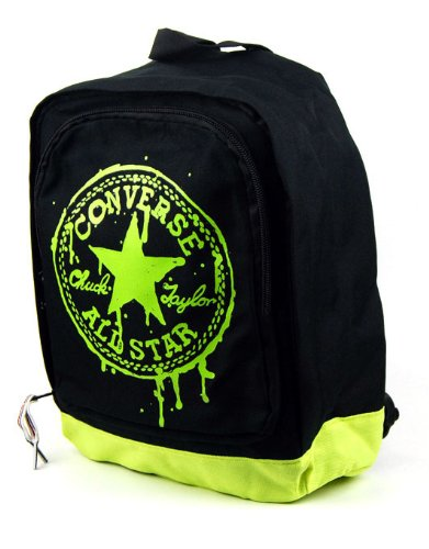 Converse Kids Backpack - Black / Lime - One Size