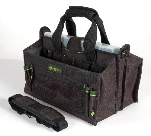 Greenlee 0158-19 Tool Carrier With Parts Bin, 15 Pocket