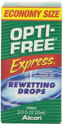 Opti-Free express gouttes hydratantes, 2/3 bouteille d'once fl