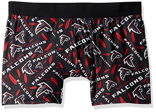 (FOCO NFL Atlanta Falcons Mens Repeat Logo Compression Underwearrepeat Logo Compression Underwear, Team Color, X-Large)