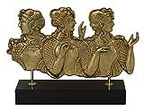Talos Artifacts Ladies in Blue Bronze Sculpture - Palace of Knossos Fresco - Minoan period