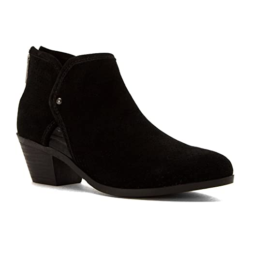 Tate 14 Women US 7.5 Black Ankle Boot