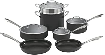 Cuisinart DSA-11 Hard-Anodized 11-Piece Cookware Set