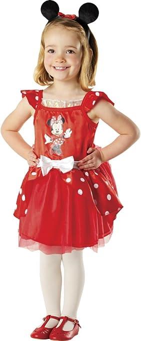 Disney - Disfraz de Minnie Mouse con tutú y accesorios para niña ...