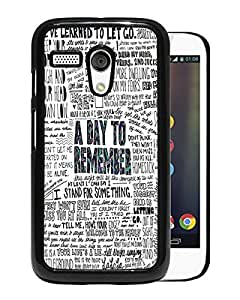 Fashionable And Nice Designed Case With a day to remember (2) Black For Motorola Moto G Phone Case