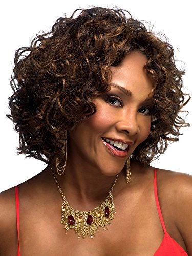 Jewish Hat With Curls Costume - 2017 Trendy Brazilian Short Curls Hair Wig for Black Women Cosplay Wig+a Free Wig Cap , picture color