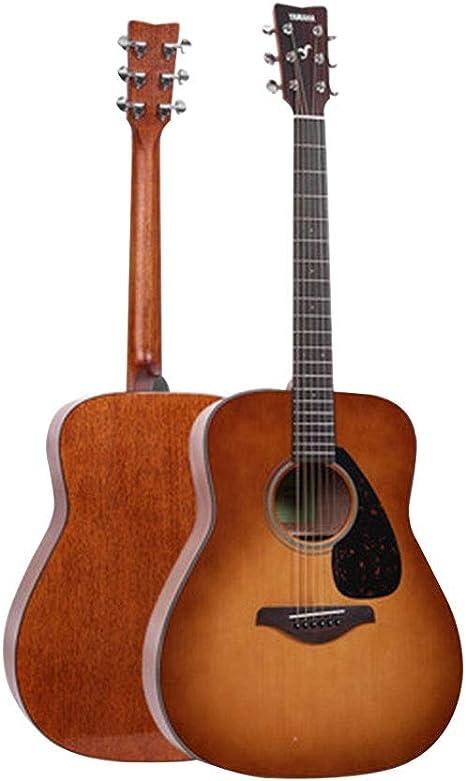 Instrumentos musicales Guitarra eléctrica Yamaha Fg800 Junta Folk eléctricos Box Principiante Hombres Mujeres alumno y 41 Pulgadas Guitarras (Color : Desert Gradient, Size : 130 * 40 * 12cm): Amazon.es: Hogar
