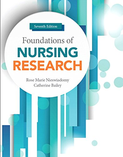 Foundations of Nursing Research (7th Edition) by Pearson