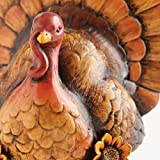 Decorative Be Thankful Hand-Painted Thanksgiving Turkey Tabletop Centerpiece Decor