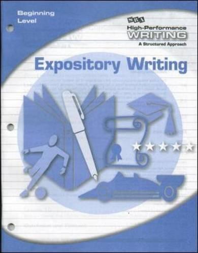 High-Performance Writing Beginning Level, Expository Writing (DODDS WRITING PROGRAM)