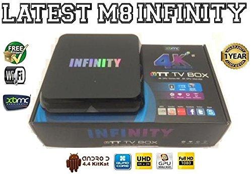infinity 4k pro box. infinity quad core android 4.4 kitkat xbmc streaming: amazon.co.uk: electronics infinity 4k pro box 5