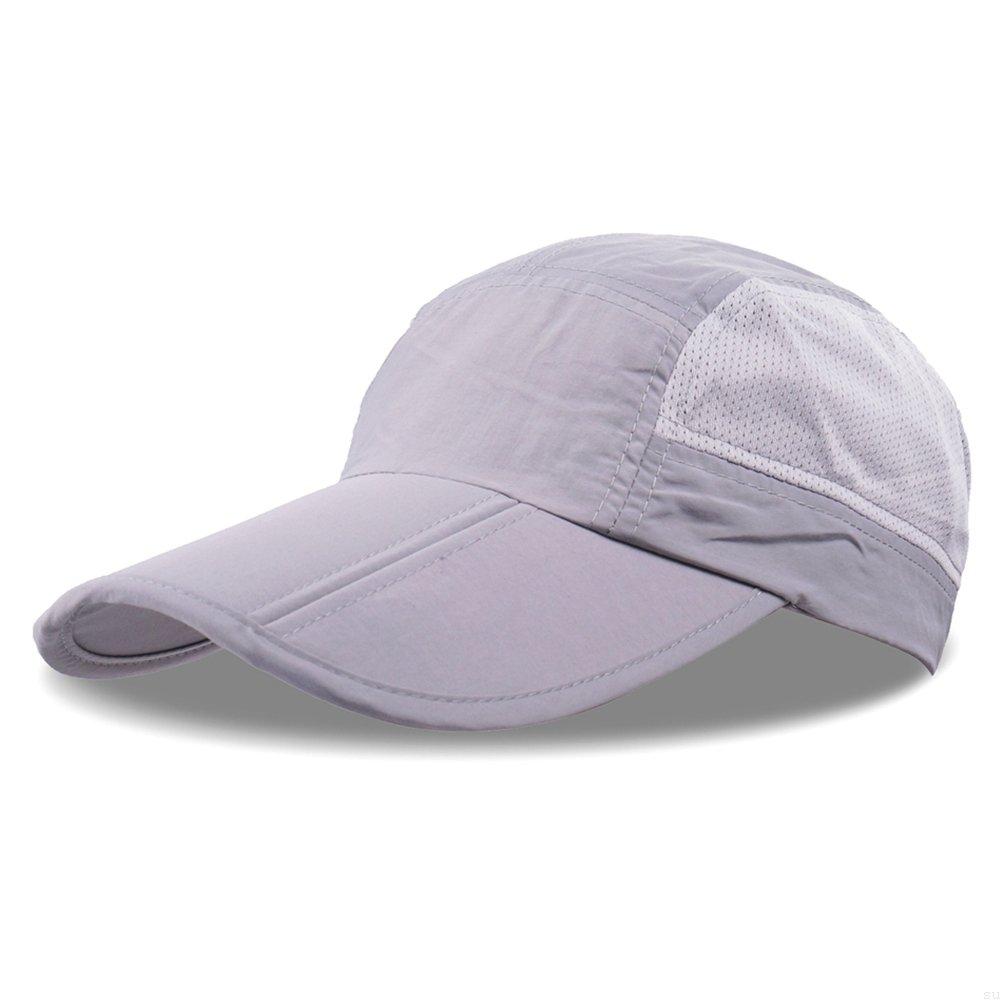 GADIEMENSS Sports Light Weight Hat Breathable Outdoor Run Cap Folding Baseball Caps Folding Running Man Hat SUM-D68