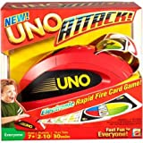 UNO ATTACK! Modern Version Includes 112 Cards And Card Launcher
