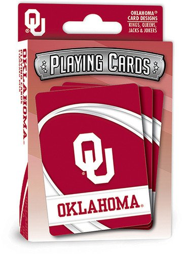 Playing Ncaa Cards - MasterPieces NCAA Oklahoma Sooners Playing Cards