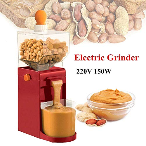 EKUEE 110V Electric Grinder,Electric Coffee Bean Grinder,500ML Portable Peanut Butter Maker Electric Grain Mills Grinder for Coffee Corn Peanut Cashews Hazelnuts