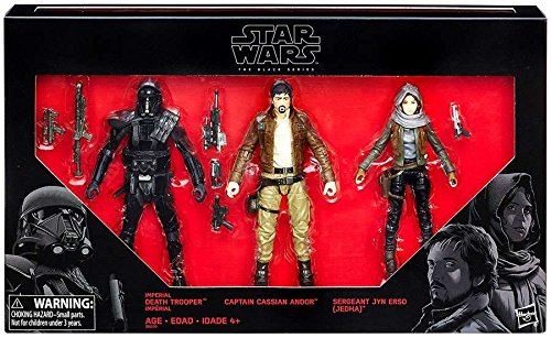 Launch Series (HASBRO STAR WARS ROGUE ONE BLACK SERIES 6 FIGURE 3 PACK EXCLUSIVE)