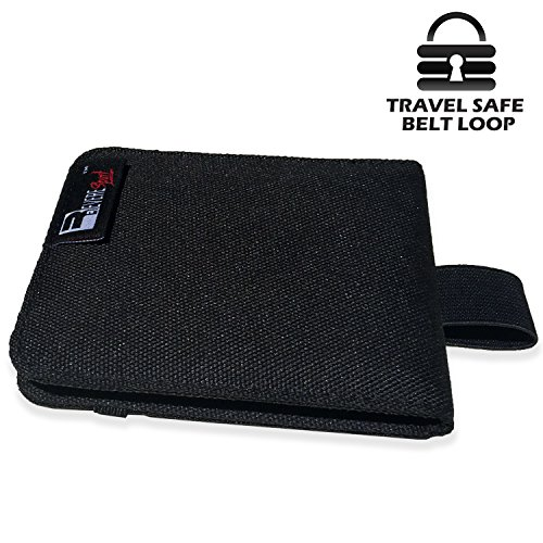 RFID Wallet for Men. Slim Money Pouch and Card Holder. Safe for Travel