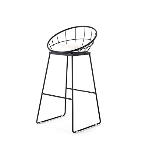 Enjoyable Amazon Com Liu Ruoxi Furniture Round Seat Bar Stool Counter Cjindustries Chair Design For Home Cjindustriesco