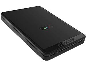 watch fd32e eeeeb SIMORE E-Clips Case for iPhone 8-7-6-6S Plus -Black: Amazon.com: iFine